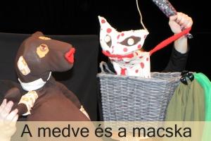 <h5>A medve és a macska</h5><p>Marica Bábszínháza</p>