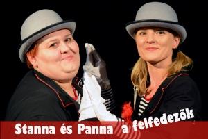 <h5>Stanna és Panna a felfedezők</h5><p>Marica Bábszínháza</p>